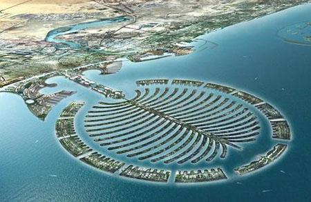 Isla de la palma de Dubai