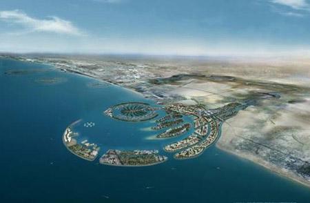 Línea de costa de Dubai